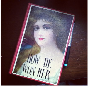 A copy of Southworth's novel How He Won Her. Image: Jill Caddell