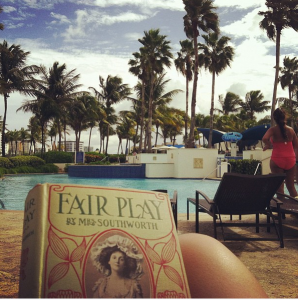 Reading Southworth in Puerto Rico, November 2012. Image: Jill Caddell